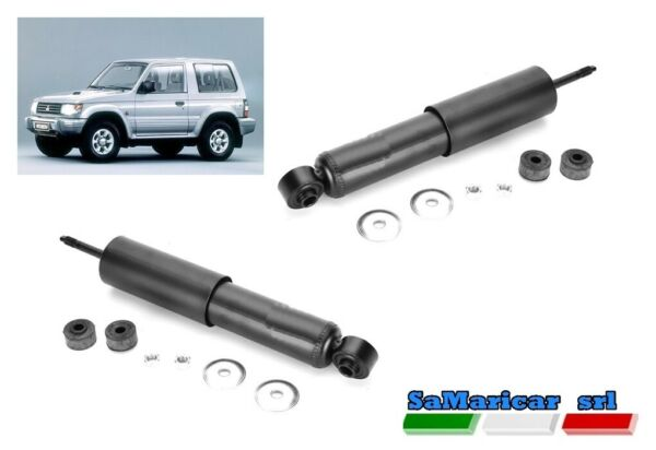 ItaliePair Rear Shock s Right/Left Mitsubishi Pajero II 3 Doors 01/1991- >