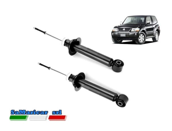 ItaliePair Front Shock s Right/Left Mitsubishi Pajero III 3/5 Port 01/2000-