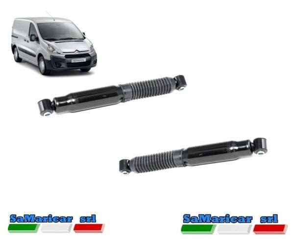 ItaliePair Rear Shock s Right/Left Citroen Jumpy Van / Sw 01/2007- >