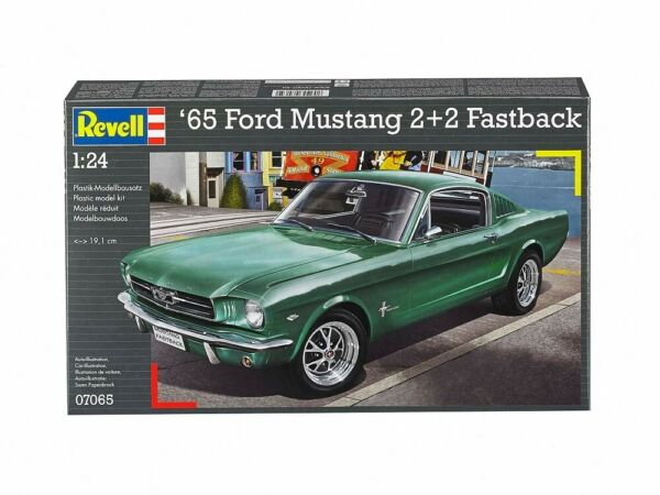 Royaume-Uni(RV07065) - Revell 1:24 - 1965 Ford Mustang 2+2 Fastback