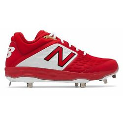 Kyпить New Balance Low-Cut 3000v4 Metal Baseball Cleat Mens Shoes Red with White на еВаy.соm
