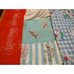 Kyпить LOT OF 3 VINTAGE TABLECLOTHS на еВаy.соm