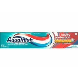 Aquafresh Cavity Protection Fluoride Toothpaste Cool Mint 5.6 ounce
