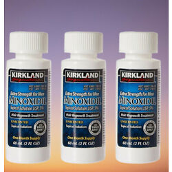 Kyпить Kirkland Minoxidil 5% Extra Strength Men Hair Regrowth Solution 3 Month Supply на еВаy.соm