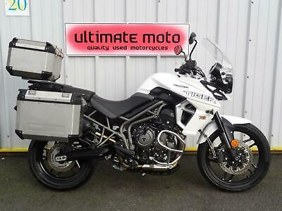 2019 19 Triumph Tiger 800 XR FULL LUGGAGE ULTIMATE TOURING MACHINE