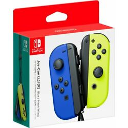 Kyпить Joy-Con (L/R) Wireless Controllers for Nintendo Switch - Blue/Neon Yellow на еВаy.соm