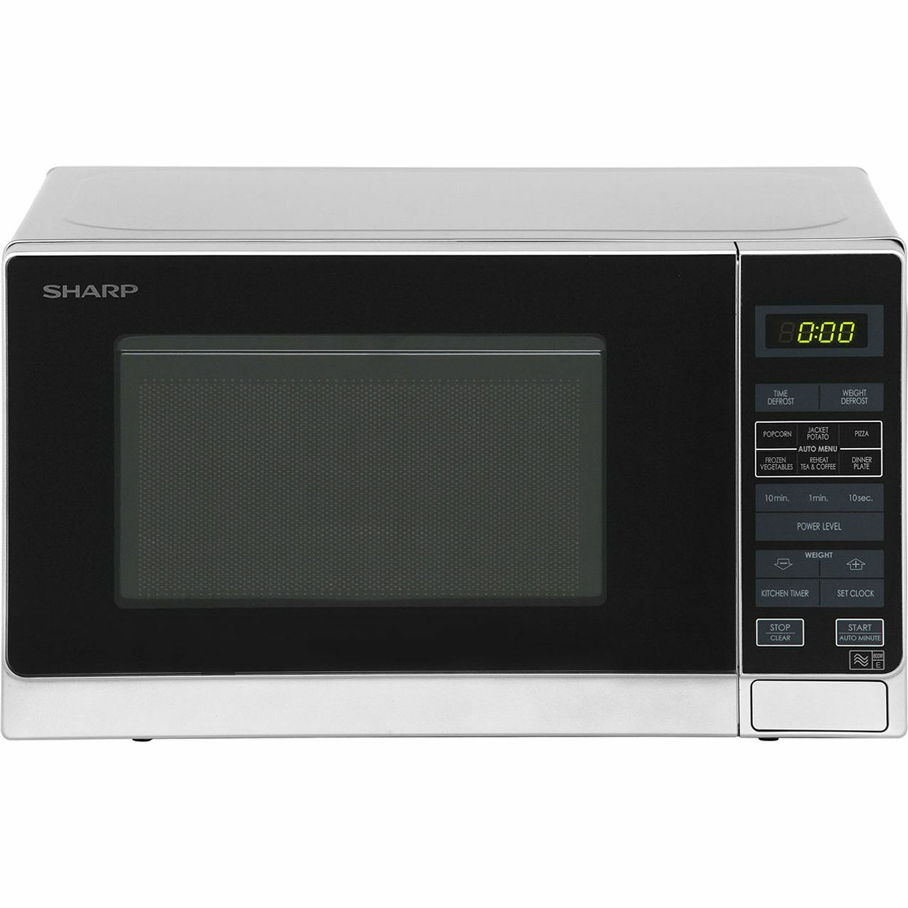 gaixample.org Sharp R272SLM Solo Touch Control Microwave 800W 20 ...