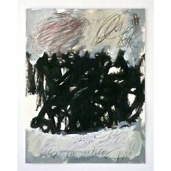 Kyпить CY TWOMBLY -- A 1999 ORIGINAL ABSTRACT SIGNED & DATED PAINTING, WITH HISTORY!   на еВаy.соm