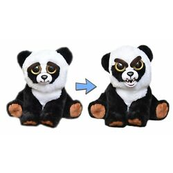 WMC FEISTY PETS BLACK BELT BOBBY PANDA PLUSH TOY NICE TO FEISTY WITH A SQUEEZE