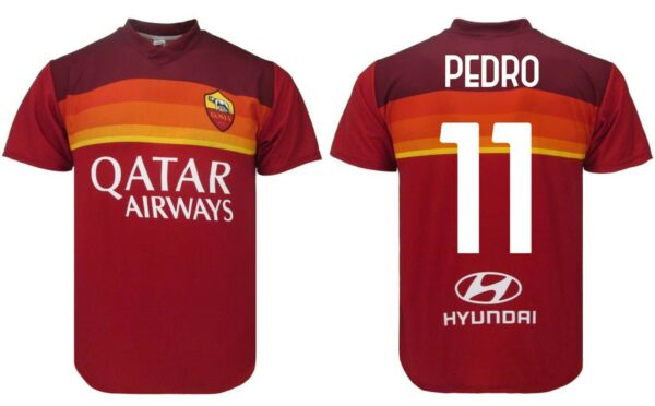 ItalieMaillot Pedro Roma 2021 Officiel Maillot Officiel 2020 Reproduction 11