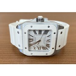 Kyпить Cartier Santos 100 Automatic - White на еВаy.соm