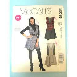 Kyпить McCalls Pattern M6396 AAX 4 6 8 10 Misses Womens Jumpers Pre-owned Uncut  на еВаy.соm