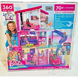 Kyпить Barbie Dream House Doll House with 70+Accessories+Accessible Elevator+Pool на еВаy.соm