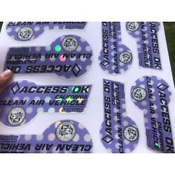 Kyпить Purple Carpool Stickers (novelty) 4pcs на еВаy.соm
