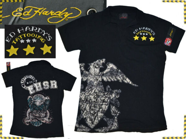 EspagneED HARDY by  Audigier Polo Man S Even - 85 % ¡¡¡  EH03 TOL1