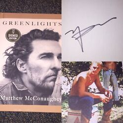 Kyпить RARE Matthew McConaughey SIGNED Greenlights Autographed Book IN HAND!!! на еВаy.соm