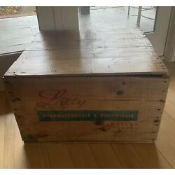 Kyпить Vintage Eli Lilly Wooden Shipping Crate на еВаy.соm