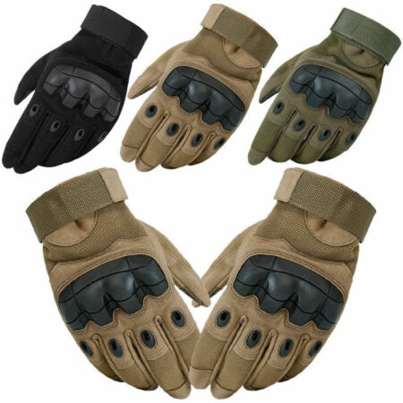 img-Tactical Hard Knuckle Gloves Army Military Assault Special Ops Airsoft Shooting