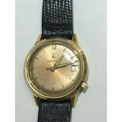 ACCUTRON  BULAVA GF  WITH DATE  RUNS       SEE THE PICTURES