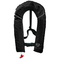 Kyпить SALVS Automatic / Manual Inflatable Life Jacket for Adults | Black Life Vest на еВаy.соm
