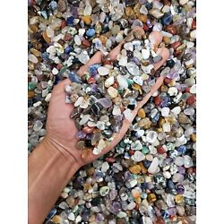 Kyпить TUMBLED CRYSTAL CHIPS - Bulk Tumbled Stones - Assorted Crystal Gemstones на еВаy.соm