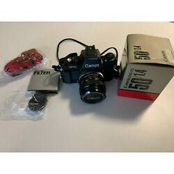 Kyпить Canon F1 with AE viewfinder and 50mm f1.4 lens S.S.C GREAT CONDITION 35mm на еВаy.соm