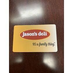 Kyпить Jasons Deli Gift Card $50 Value On The Card на еВаy.соm