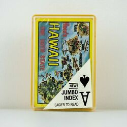 Kyпить Vintage Standard Deck Playing Cards Here's Hawaii the 50th State Jumbo на еВаy.соm