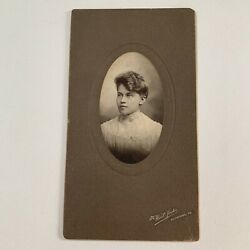 Kyпить Antique Cabinet Card Photograph Lovely Young Woman Teen Great Hair Allentown Pa на еВаy.соm