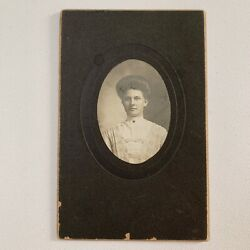 Kyпить Antique Cabinet Card Photograph Beautiful Woman High Hair Reading Pa на еВаy.соm