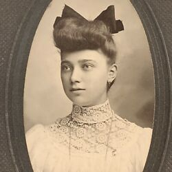 Kyпить Antique Cabinet Card Photograph Beautiful Fashionable Woman Teen Allentown Pa на еВаy.соm