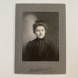 Kyпить Antique Cabinet Card Photograph Beautiful Fashionable Woman Teen ID Allentown Pa на еВаy.соm