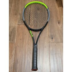 Kyпить Wilson Blade 18x20 V7 4 3/8 Tennis Racket New String на еВаy.соm