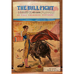 Kyпить Vintage Spain Tourist Bullfighting Pictorial Booklet Spanish Bull Fight Travel на еВаy.соm