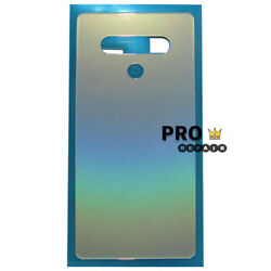 LG Stylo 6 Q730 Battery Door Back Glass Cover With Adhesive Tape Replacement