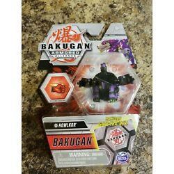 New, Bakugan Armored Alliance - Howlkor - Gate-Trainer Collectible Figure