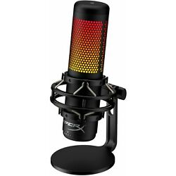 Kyпить HyperX - QuadCast S - RGB Wired Multi-Pattern Electret Condenser Microphone на еВаy.соm