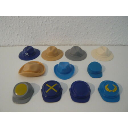 img-Playmobil Hat Hats Cap Acw Soldiers Cavalry Union Army Southern States