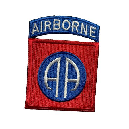 img-Reproduction World War 2 Era American/US Insignia, 82nd Airborne Division Patch