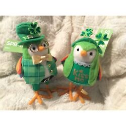 Kyпить 2020 Target Spritz St. Patrick's Day Birds. Laddie and Lucky. New With Tags. на еВаy.соm