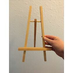 Wooden Display Easels Lot of 5 Painting Art Photo Wedding Tabletop Ikea 12''