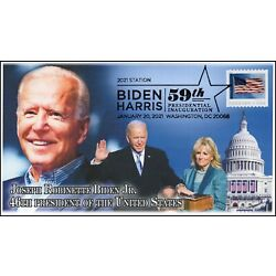 Kyпить 21-014, 2021, Presidential Inauguration, Event Cover, Pictorial Postmark, Biden на еВаy.соm
