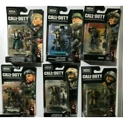 Kyпить Call of Duty Mega Construx series 4 set of 6 Pelayo, Recon, Torque, Artic ranger на еВаy.соm
