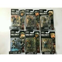 Kyпить MEGA CONSTRUX CALL OF DUTY MINIFIGURES SERIES 4 SET OF 6 FIGURES NEW  на еВаy.соm