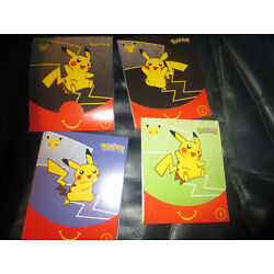 Kyпить  POKEMON CARDS McDonalds 2021 25th Anniversary Sealed Pack All 4 Number 16 cards на еВаy.соm