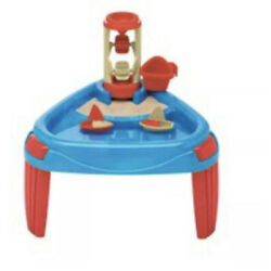American Plastic Toys Sand and Water Play Table Beach Kids Toddler 1 1/2+ Child