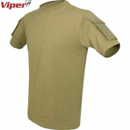 img-CLEARANCE! VIPER TACTICAL T-SHIRT MENS 2XL 3XL HEAVYWEIGHT TOP SECURITY AIRSOFT