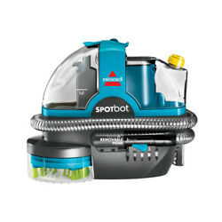 BISSELL SpotBot Spot and Stain Carpet Cleaner 2117 Push a button enjoy the clean