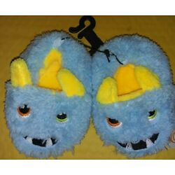 Toddler Boys/Girls Slippers Silly Monsters Dinos Llams Cats Multi Color Bear Paw