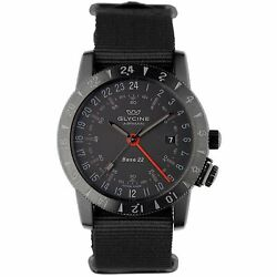 Kyпить Glycine 3887.99.TB99 Men's Airman Base 22 Black Automatic Watch на еВаy.соm